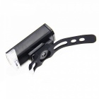300LM USB Rechargeable LED Bicycle Flashlight Headlight - Black