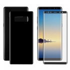 Hat-Prince 2PCS 3D Full Screen Guard for Samsung Galaxy Note 8 - Black