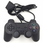 Wired Game Controller Joystick for Sony PS2 Playstation 2 - Black