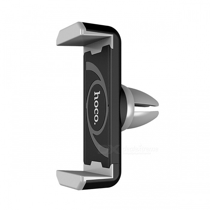 HOCO Car Air Vent Phone Holder 360 Degree Rotatable - Black + GrayMounts &amp; Holders<br>Form  ColorBlack + GrayModelCPH01MaterialABSQuantity1 DX.PCM.Model.AttributeModel.UnitMount TypeCar MountCompatible ModelsUniversalCompatible Size(inch)3.5~6 inches mobile phonesPacking List1 x Holder<br>