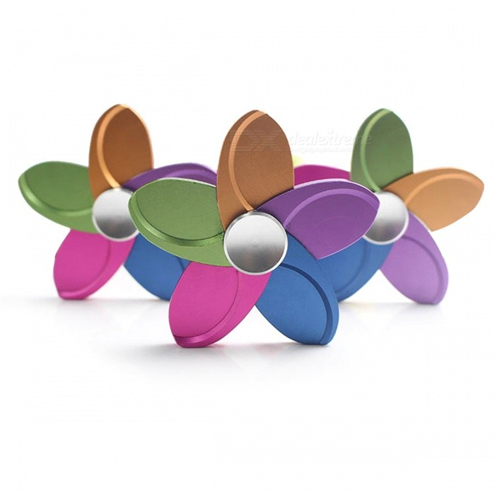 Five-Leaf Flower Shape Anti-Stress Fidget Finger Toy Spinner (3 PCS)Finger Toys<br>Form  ColorFive-Leaf Flower (3 PCS)MaterialMetalQuantity3 piecesSuitable Age 8-11 years,12-15 years,Grown upsPacking List3 x Fingertip gyroscopes<br>