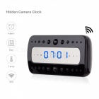 Mini 1080P Wi-Fi Camera Alarm Clock (EU Plug)