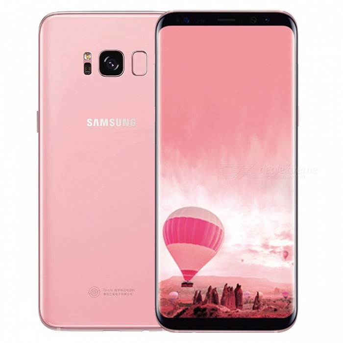 "Samsung G9500 S8 Dual SIM 5.8"" Phone with 4GB, 64GB - Pink (HK Ver.)"