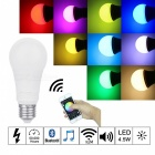 E27 4.5W Bluetooth V4.0 Smart RGB LED Light Bulb