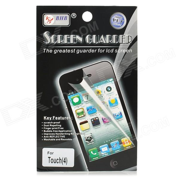 Glossy Screen Protector with Cleaning Cloth for Ipod Touch 4