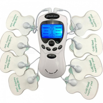 Digital Meridian Therapy Massager Machine with Electrode Pads