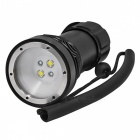SPO Professional Diving LED Flashlight Underwater Photography Lighting