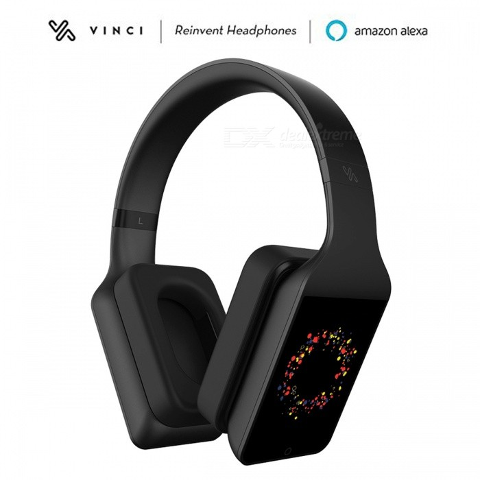 VINCI 1.5 Lite Amazon Alexa Voice Controlling Artificial Intelligence HiFi Stereo Headphone - BlackHeadphones<br>Form  ColorBlackBrandOthers,VINCIModelLite 1.5MaterialPlasticQuantity1 DX.PCM.Model.AttributeModel.UnitConnection3.5mm Wired,Bluetooth,Others,Wi-Fi 3G WCDMABluetooth VersionBluetooth V4.0Bluetooth ChipMT6572Operating Range10MConnects Two Phones SimultaneouslyNoCable Length1 DX.PCM.Model.AttributeModel.UnitLeft &amp; Right Cables TypeEqual LengthHeadphone StyleHeadbandWaterproof LevelIPX4Applicable ProductsUniversalHeadphone FeaturesHiFi,English Voice Prompts,Long Time Standby,Magnetic Adsorption,PortableRadio TunerYesSupport Memory CardNoSupport Apt-XYesChannels2.0SNRN/ATHDN/AFrequency ResponseBattery TypeLi-ion batteryBuilt-in Battery Capacity 1500 DX.PCM.Model.AttributeModel.UnitStandby Time200 DX.PCM.Model.AttributeModel.UnitTalk Time15 DX.PCM.Model.AttributeModel.UnitMusic Play Time7 DX.PCM.Model.AttributeModel.UnitPower AdapterWithout Power AdapterCertificationFCC CEOther FeaturesVoice ControlPacking List1 x Headphone1 x Charging Cable 1 x Audio cable1 x Instruction Manual<br>