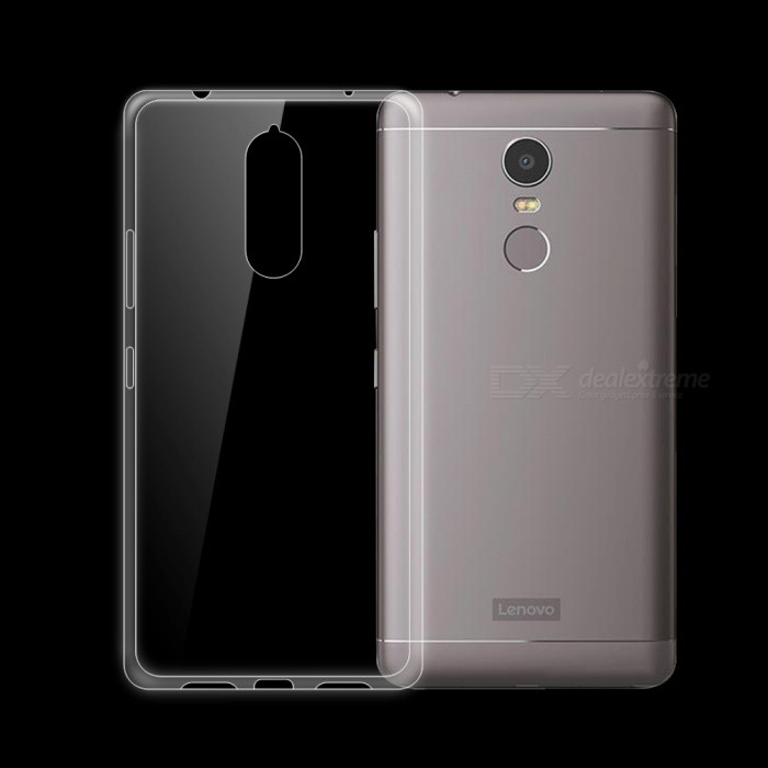 Dayspirit Ultra-thin TPU Back Case for Lenovo K6 NoteTPU Cases<br>Form  ColorTransparentModelN/AMaterialTPUQuantity1 pieceShade Of ColorTransparentCompatible ModelsLenovo K6 NotePacking List1 x Case<br>