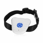 Ultrasonic Bark-Stop Collar for Dogs / Barking Control - White