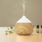Coconut Shaped Mini Water Spray Aromatherapy Diffuser Machine - Brown (EU Plug)