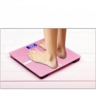 ZHAOYAO Slim Household Electronic Weight Scale with HD LCD Display - Pink