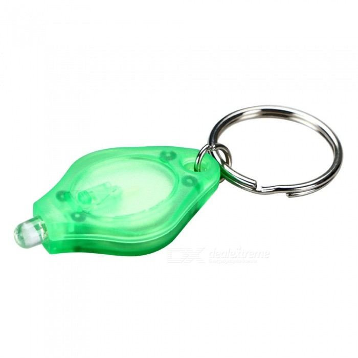 Mini LED Keychain Finger Light - GreenLED String<br>Form  ColorGreen + SilverColor BINNeutral WhiteMaterialPVCQuantity1 DX.PCM.Model.AttributeModel.UnitPowerOthers,0.3WRated VoltageOthers,3 DX.PCM.Model.AttributeModel.UnitEmitter TypeLEDTotal Emitters1Wavelength365nm/395nmTheoretical Lumens10 DX.PCM.Model.AttributeModel.UnitActual Lumens5 DX.PCM.Model.AttributeModel.UnitPower AdapterOthers,CR2016*2Packing List1 x LED Light<br>