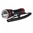 SPO Professional Outdoor Aluminum Alloy Diving Flashlight Torch