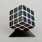 Speed Magic Cube Base Holder, Plastic Stand for Puzzle - Black (85mm)