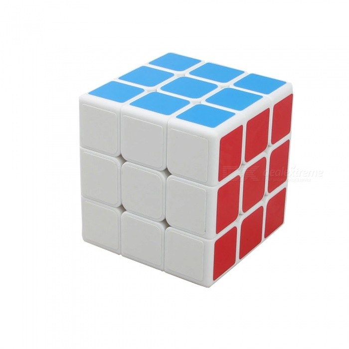 ShengShou 70mm 3x3x3 Speed Magic Cube Puzzle Toy for Kids Adults - WhiteMagic IQ Cubes<br>Form  ColorWhite(70mm)ModelN/AMaterialABSQuantity1 pieceType3x3x3Suitable Age 3-4 years,5-7 years,8-11 years,12-15 years,Grown upsPacking List1 x Magic Cube<br>