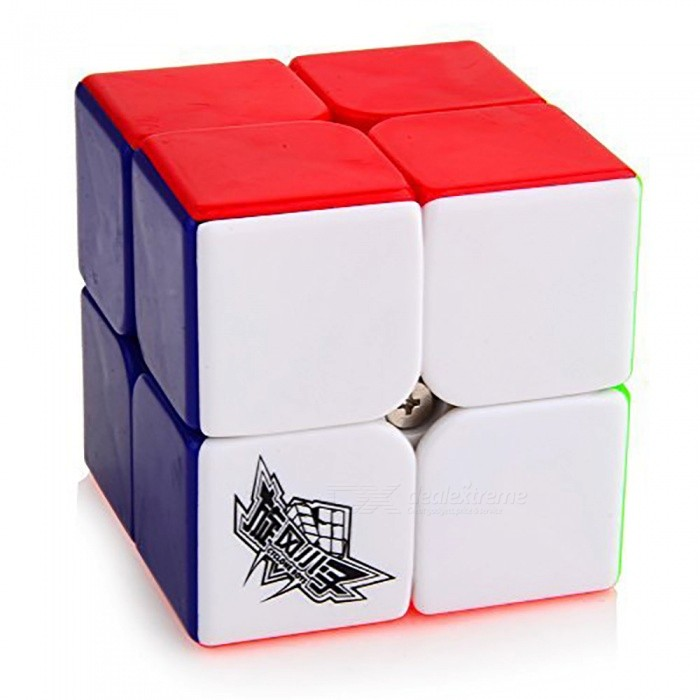 Cyclone Boys 50mm 2x2x2 Stickerless Speed Magic Cube Puzzle Toy for Kids - MulticolourMagic IQ Cubes<br>Form  ColorMulticolour (50mm)ModelN/AMaterialABSQuantity1 pieceTypeOthers,2x2x2Suitable Age 3-4 years,5-7 years,8-11 years,12-15 years,Grown upsPacking List1 x Magic Cube<br>