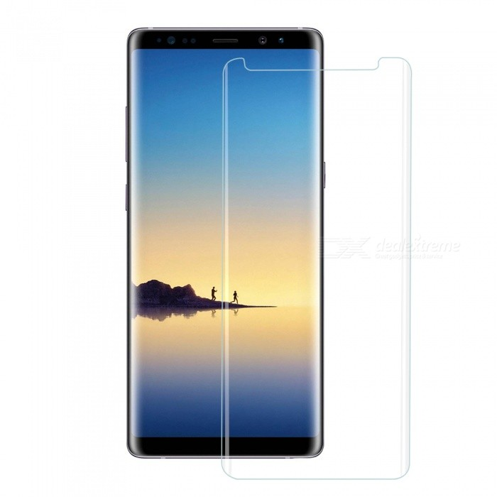 Mini Smile Tempered Glass Screen Protector Film for Samsung Galaxy Note 8