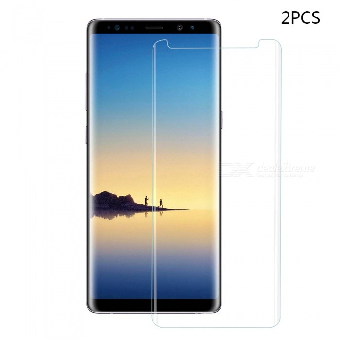Mini Smile Tempered Glass Screen Protector Film for Samsung Galaxy Note 8 (2PCS)Screen Protectors<br>Form  ColorTransparent (2 PCS)Screen TypeGlossyModelN8-TP3DMaterialTempered GlassQuantity1 DX.PCM.Model.AttributeModel.UnitCompatible ModelsSamsung Galaxy Note 8Features3D,Fingerprint-proof,Scratch-proof,Tempered glassPacking List2 x Screen protectors2 x Wipe2 x Dust sticker2 x Wet wipe<br>