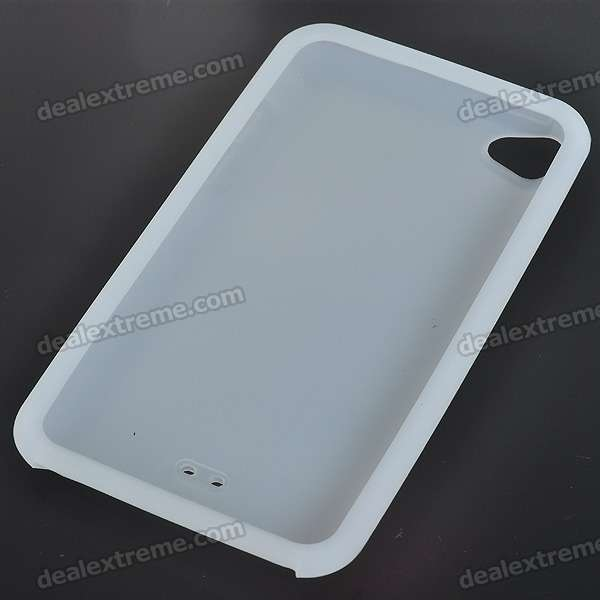 Protective Silicone Back Case for Ipod Touch 4 (White)