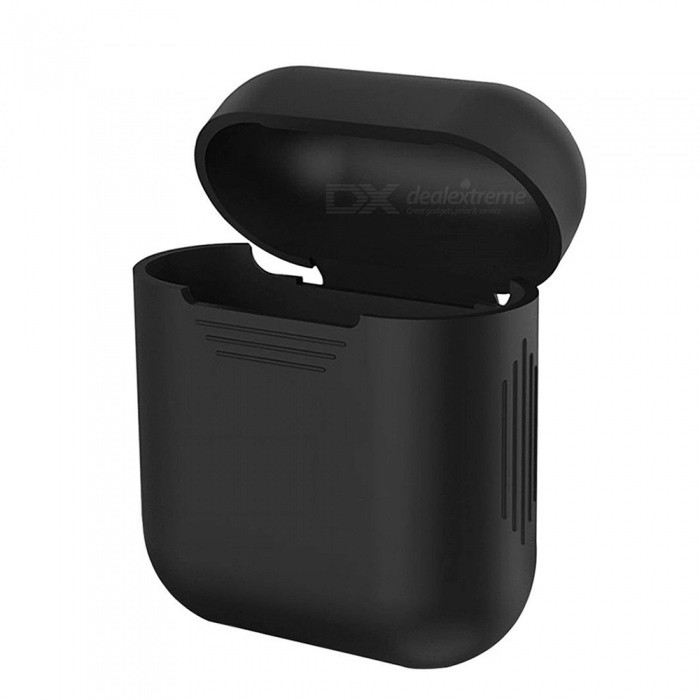Protective Mini Travel Cover Case Protector Box for Apple Earphone - BlackHeadphone Accessories<br>Form  ColorBlackMaterialABSQuantity1 DX.PCM.Model.AttributeModel.UnitShade Of ColorBlackPacking List1 x Cover<br>