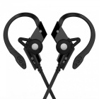S501 Sport Bluetooth Wireless Stereo Earphone Headset with Mic - Black