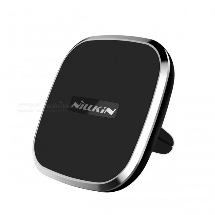 Nillkin Car Air Vent Mount Holder Magnetic Wireless Charger - BlackWireless Chargers<br>Form  ColorBlackPower AdapterOthersModelMagicCube Qi wireless chargerQuantity1 DX.PCM.Model.AttributeModel.UnitMaterialABSExecutive StandardQiShade Of ColorBlackTypeChargerCompatible ModelsUniversalInput5V 2AOutput interface, output current, output voltage5V 1.5ALED IndicatorNoCertificationCE,CCC,ULPacking List1 x Car Magnetic Wireless Charger<br>