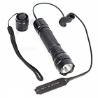 ZHAOYOA T6 Red Light 5-Mode Tactical Flashlight - Black