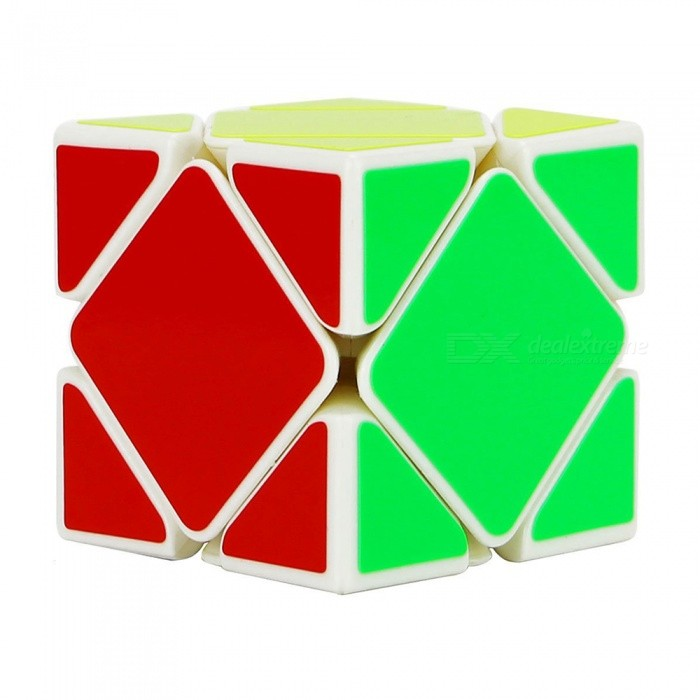 MoYu YJ 57mm Skewb Smooth Magic Cube Puzzle Toy for Kids, Adults - WhiteMagic IQ Cubes<br>Form  ColorWhite (57mm)ModelN/AMaterialABSQuantity1 DX.PCM.Model.AttributeModel.UnitTypeOthersSuitable Age 3-4 years,5-7 years,8-11 years,12-15 years,Grown upsPacking List1 x Magic Cube<br>
