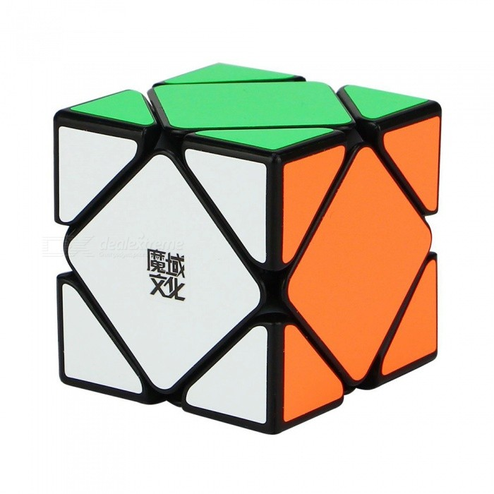MoYu YJ 57mm Skewb Smooth Magic Cube Puzzle Toy for Kids, Adults - BlackMagic IQ Cubes<br>Form  ColorBlack (57mm)ModelN/AMaterialABSQuantity1 DX.PCM.Model.AttributeModel.UnitTypeOthersSuitable Age 3-4 years,5-7 years,8-11 years,12-15 years,Grown upsPacking List1 x Magic Cube<br>