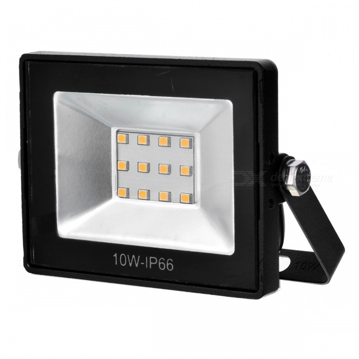 10W 900lm IP65 Waterproof Warm White LED Floodlight (260V)