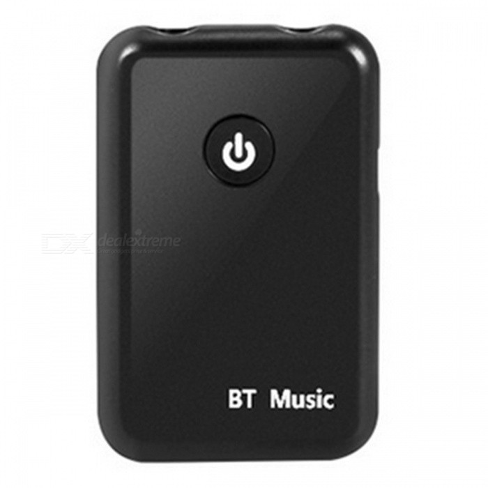 2-in-1 Bluetooth V4.2 Audio Transmitter Receiver Wireless Adapter - Black