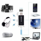 3.5mm Portable Stereo Audio Wireless Bluetooth Transmitter for TV