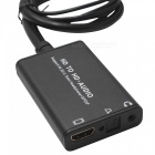 HD to HD + Audio Converter Extractor with 3.5mm Headphone + SPDIF Stereo Adapter