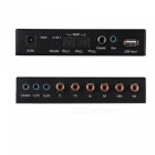 5.1 Audio Gear Digital Sound Decoder with USB Input / Optical Coaxial DTS AC3 to Analog 5.1CH Audio Output - EU Plug