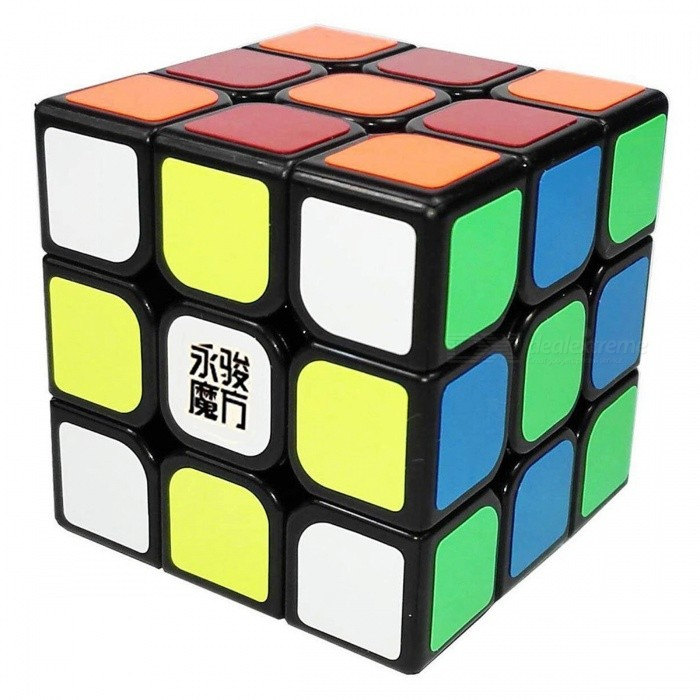 YJ YuLong 57mm 3x3x3 Smooth Speed Magic Cube Puzzle Toy for Kids - BlackMagic IQ Cubes<br>Form  ColorBlack (57mm)ModelN/AMaterialABSQuantity1 DX.PCM.Model.AttributeModel.UnitType3x3x3Suitable Age 3-4 years,5-7 years,8-11 years,12-15 years,Grown upsPacking List1 x Magic Cube<br>