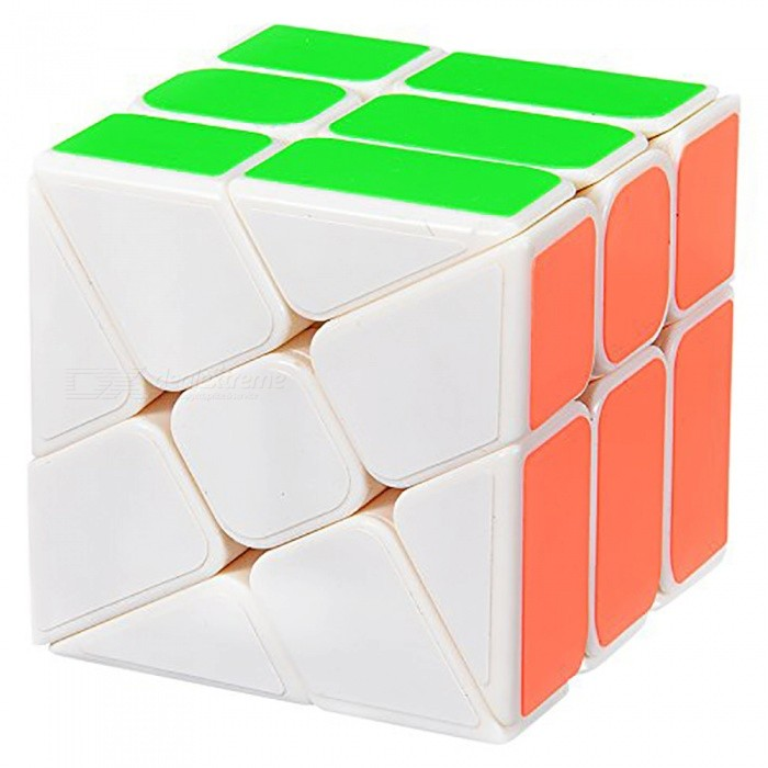 YJ 56mm Rubik Smooth Speed Magic Cube Puzzle Toy for Kids, Adults - WhiteMagic IQ Cubes<br>Form  ColorWhite (56mm)ModelN/AMaterialABSQuantity1 pieceTypeOthersSuitable Age 3-4 years,5-7 years,8-11 years,12-15 years,Grown upsPacking List1 x Magic Cube<br>