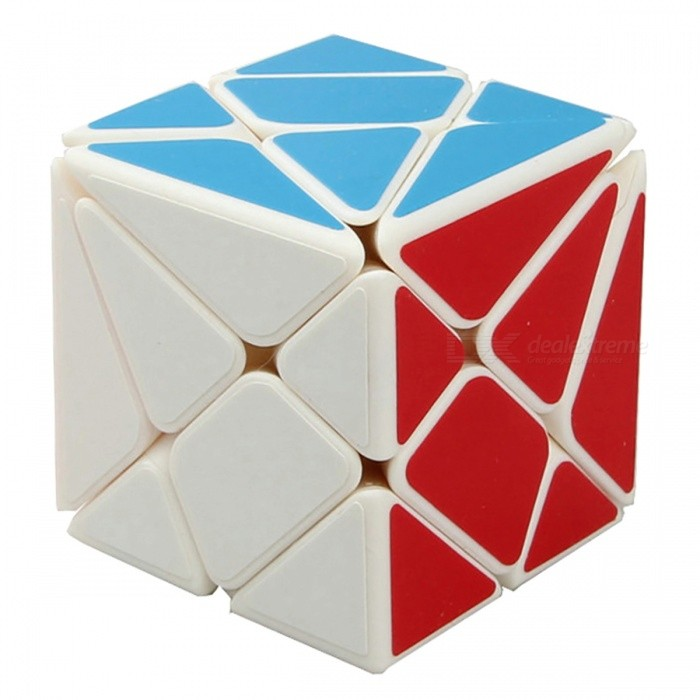 YJ Axis 56mm Smooth Speed Magic Cube Puzzle Toy for Kids, Adults - WhiteMagic IQ Cubes<br>Form  ColorWhite (56mm)ModelN/AMaterialABSQuantity1 DX.PCM.Model.AttributeModel.UnitType3x3x3,OthersSuitable Age 3-4 years,5-7 years,8-11 years,12-15 years,Grown upsPacking List1 x Magic Cube<br>
