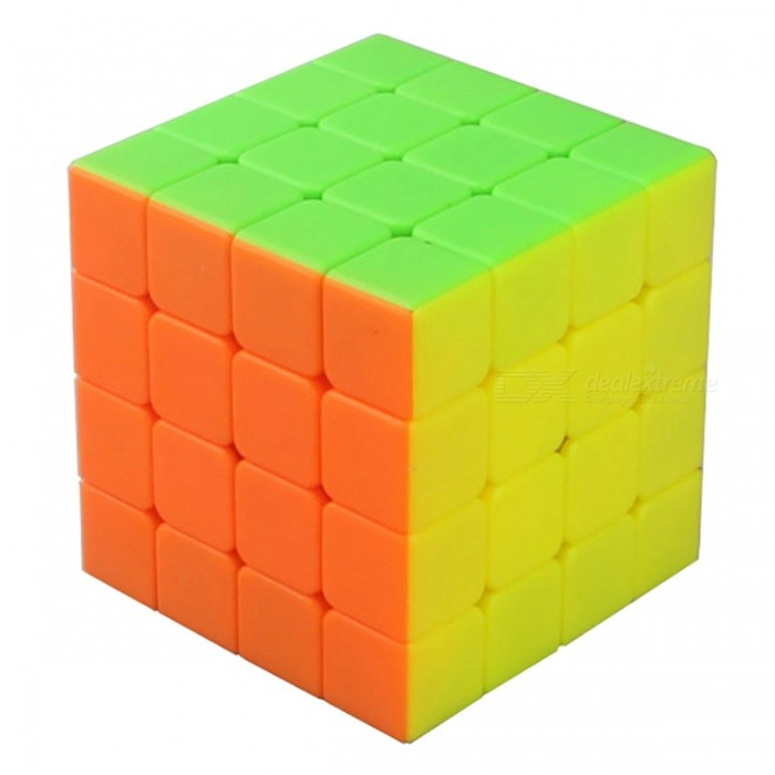 Cyclone Boys 57mm 4x4x4 Smooth Speed Magic Cube Puzzle Toy for Kids, Adults - Multicolour