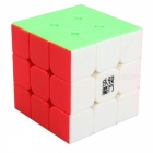 YJ YuLong 57mm 3x3x3 Smooth Speed Magic Cube Puzzle Toy for Kids - Fluorescente Multicolour