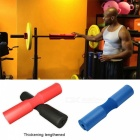 New Weightlifting Barbell Support Pad - Red