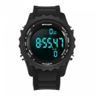 SANDA Sports Wrist Watch with Pedometer Computing Step Motion Counting Function - Black