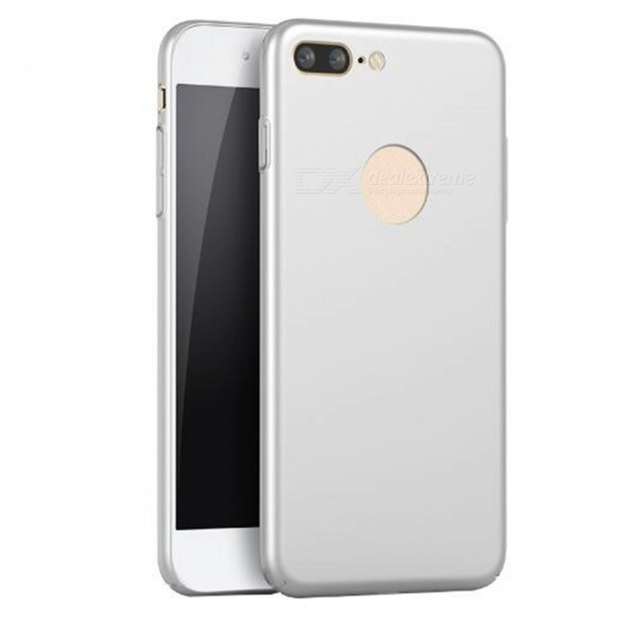 Naxtop PC Hard Protective Back Case for Naxtop iPhone 8 Plus - SilverPlastic Cases<br>Form  ColorSilverModelN/AQuantity1 DX.PCM.Model.AttributeModel.UnitMaterialPCCompatible ModelsIPHONE 8 PLUSDesignSolid ColorStyleBack CasesPacking List1 x Case<br>