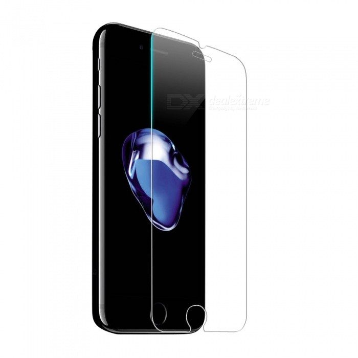 Naxtop Tempered Glass Screen Protector for IPHONE 7, 8Screen Protectors<br>Screen TypeTransparent (1Pc)ModelN/AQuantity1 DX.PCM.Model.AttributeModel.UnitMaterialTempered GlassForm  ColorTransparentCompatible ModelsiPhone 7,IPHONE 8StyleScreen protectorScreen FeaturesScratch ProofPacking List1 x Tempered glass film1 x Wet wipe1 x Dry wipe1 x Dust absorber<br>