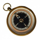 OJADE Creative Compass with Key Buckle - Golden