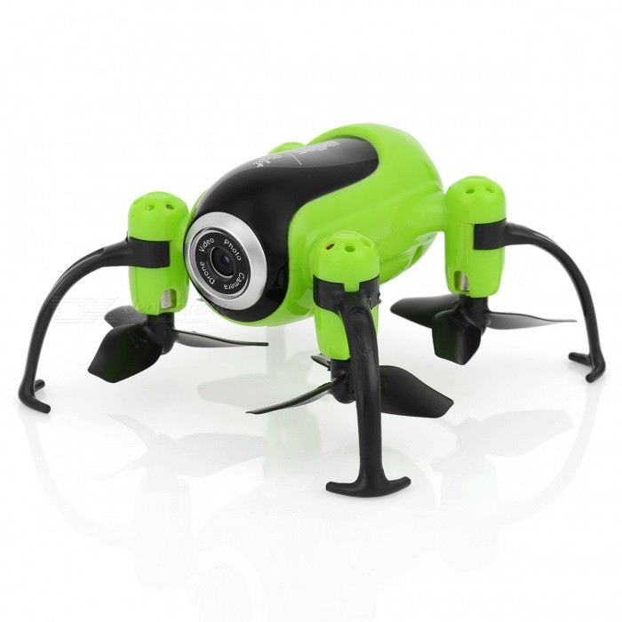 UDIR/C i150HW Fixed Height Version Mini Quadcopter Aerial Vehicle with Camera, Customized Route Mode - GreenR/C Airplanes&amp;Quadcopters<br>Form  ColorGreen + BlackModeli150HWMaterialElectronic components, plasticsQuantity1 piecesShade Of ColorGreenGyroscopeYesChannels Quanlity4 channelFunctionUp,Down,Left,Right,Forward,Backward,Stop,Hovering,Sideward flightRemote TypeRadio ControlRemote control frequency2.4GHzRemote Control Range50 mSuitable Age 8-11 years,12-15 years,Grown upsCameraYesCamera PixelOthers,2.0MPLamp YesBattery TypeLi-polymer batteryBattery Capacity180 mAhCharging Time25 minutesWorking Time5~7 minutesRemote Controller Battery TypeAA,AAARemote Controller Battery Number3Remote Control TypeOthers,2.4GModelMode 2 (Left Throttle Hand)Packing List1 x Aerocraft1 x Remote Control4 x Propellers1 x USB Charging Cable (34.5cm)1 x Screwdriver1 x User Manual<br>