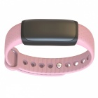 "Y02s 0.91"" Smart Bracelet with Blood Pressure Heart Rate Monitor, Step Counter - Pink"