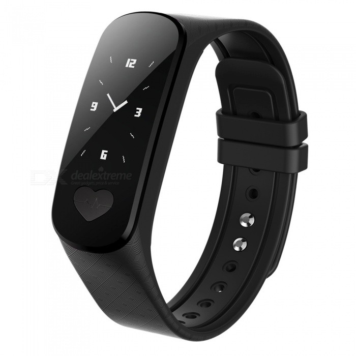 B9 IP67 Waterproof ECG Monitoring Smart Bracelet Wristband - BlackSmart Bracelets<br>Form  ColorBlackModelB9Quantity1 setMaterialABSShade Of ColorBlackWater-proofIP67Bluetooth VersionBluetooth V4.0Touch Screen TypeYesCompatible OSAndroid system 4.4 version or above; iOS system 8.0Battery Capacity80 mAhBattery TypeLi-polymer batteryStandby Time5-7 daysPacking List1 x Smart Bracelet1 x User Manual<br>