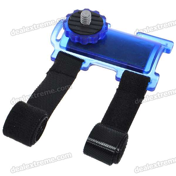 Camera Action Mount Holder for Bicycle - Blue