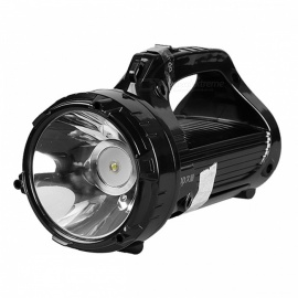 Tático Flashlight Duração Power LED Searchlight Lanterna portátil Handy Tent Light Spotlight para caça Camping Fishing